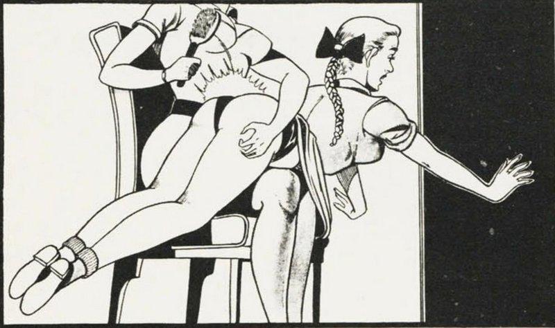 otk hairbrush spanking