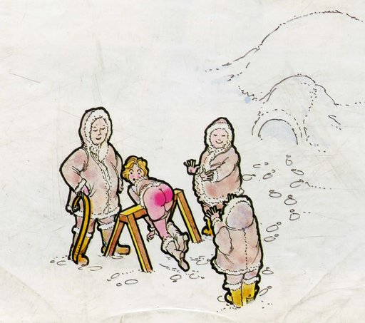 spanking among the arctic peoples