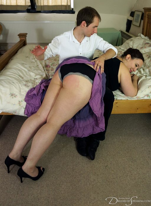 over his knee for a first date spanking