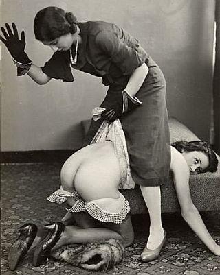 flapper woman spanks languid spankee