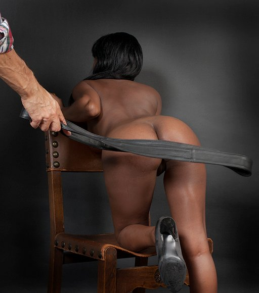 leather strap spanking