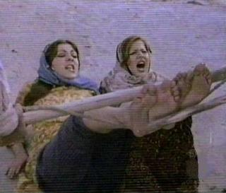 bastinado or falaka on TV