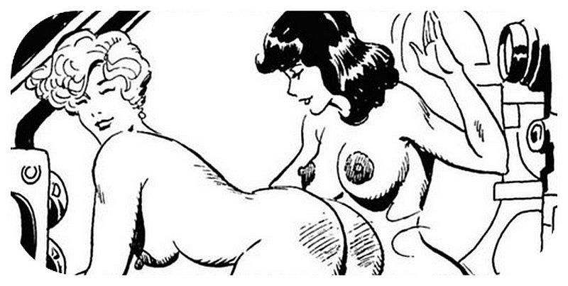 lesbian scifi spanking