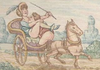 horseback spanking