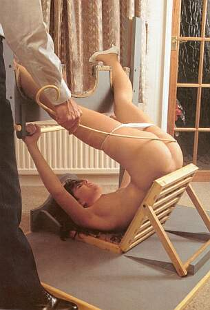 pretty posture for a caning