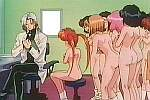 frame from unknown spanking anime movie