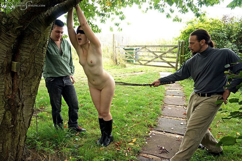 caned switched and birched by both of her lovers