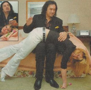 spanked by gene simmons of kiss