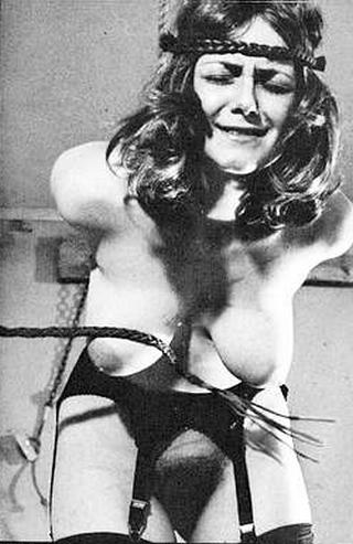 vintage german breast whipping