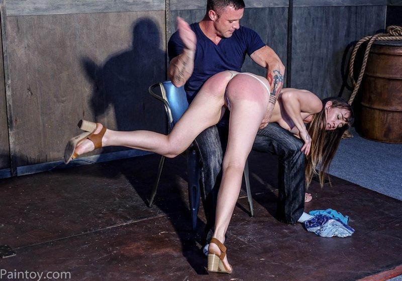 spanking gina OTK