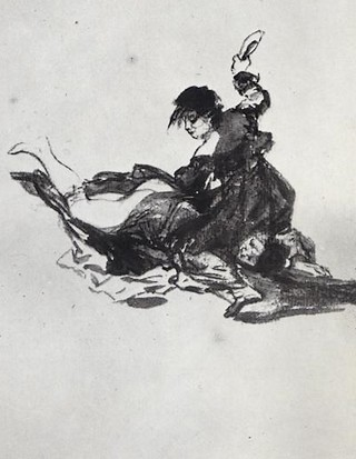 girl fight goya