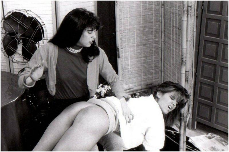 Ed Sonner over the knee spanking photo