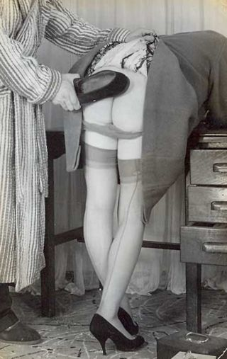 slipper spanking