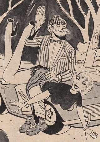 groovy spanking