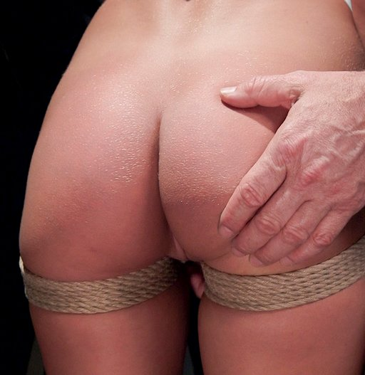 spanked during slave training