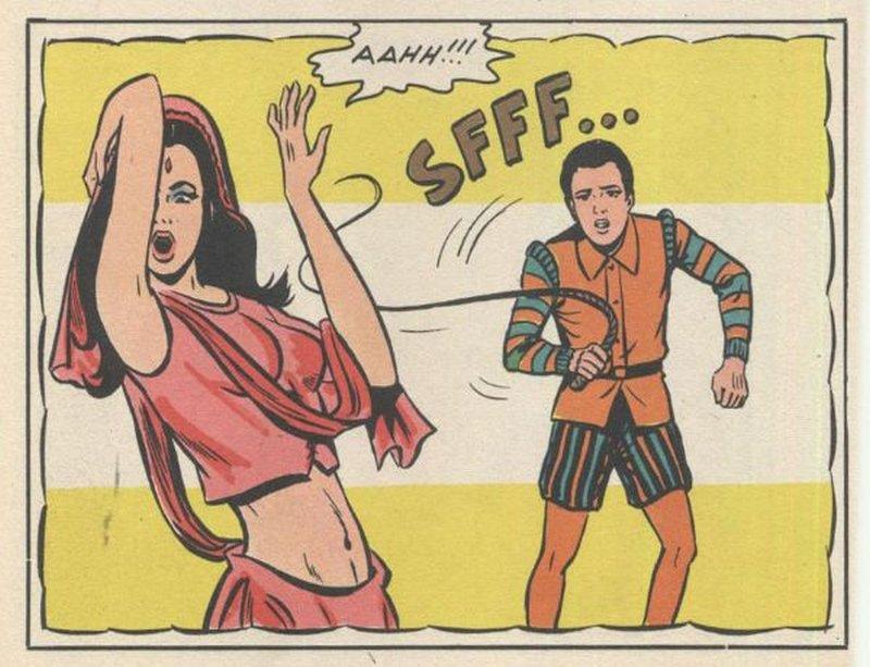 whipped harem girl