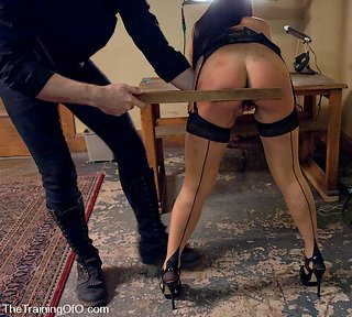 Jade Indica gets a ruler spanking