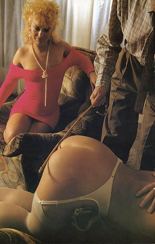 a caning from Janus magazine