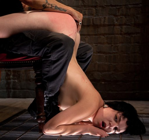 painful and humiliating lap spanking