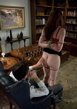 naked inspection of naughty paralegal