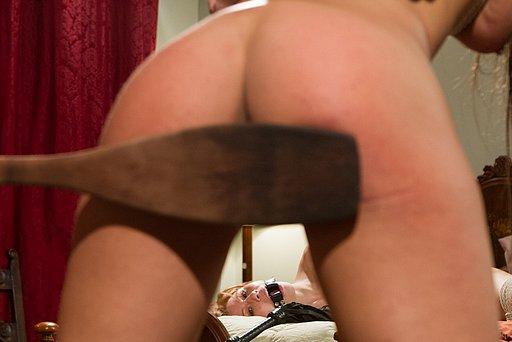 huge wooden spanking paddle