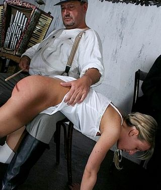 a painful otk caning experience