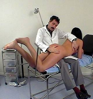maria gets a medical spanking