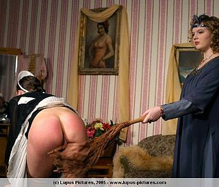 a martinet whipping for discipline of a household domestic