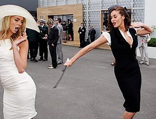 supermodel public spankings