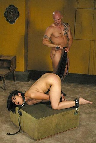 Mika Tan flogged in helpless bondage