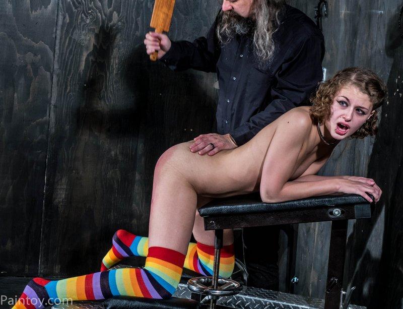 wooden paddle spanking