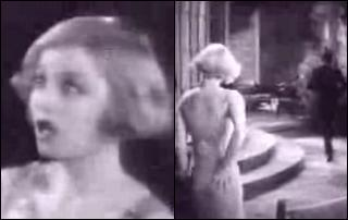 vidcaps from The Naughty Flirt, 1931, showing Alice White