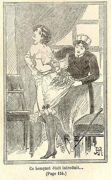 putting nettles into the bloomers of the maid as a punishment