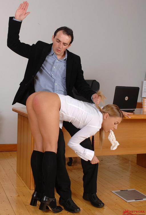 nikki gets a hard spanking with her own moist panties in her mouth for a gag