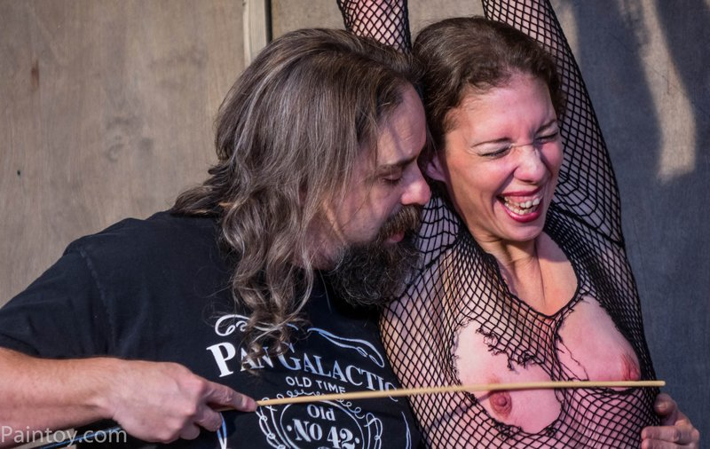 agony and ecstasy of nipple caning