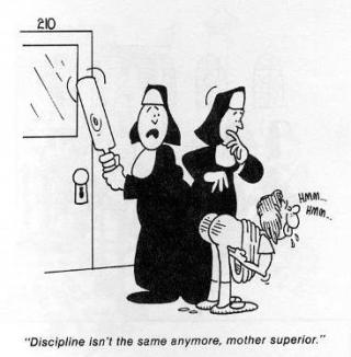 nun spankings