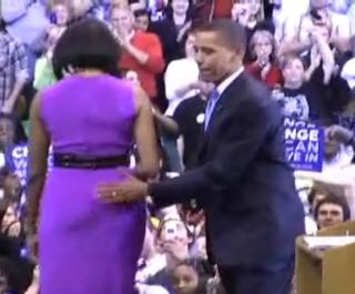 spanking michelle obama