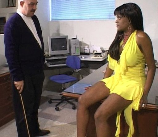 lecture for a black secretary about to be punished