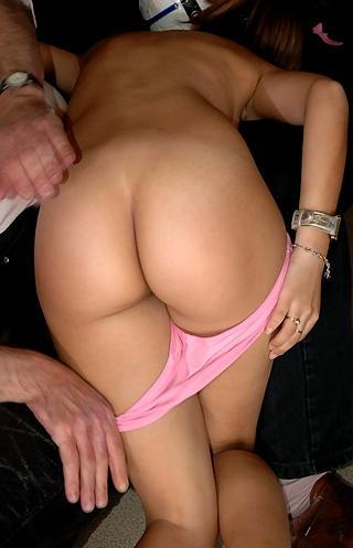 pretty girl spanked otk