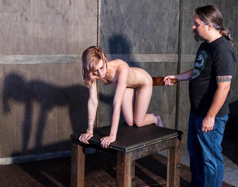 swatting maria's ass