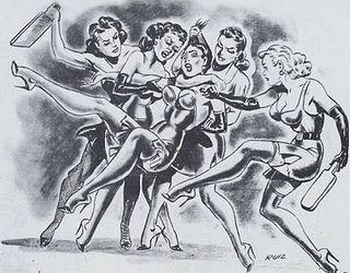 sorority girls spanking orgy