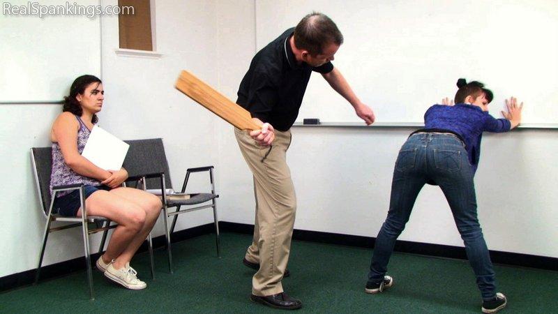 stinging paddle spanking