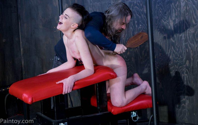 hardwood paddle spanking