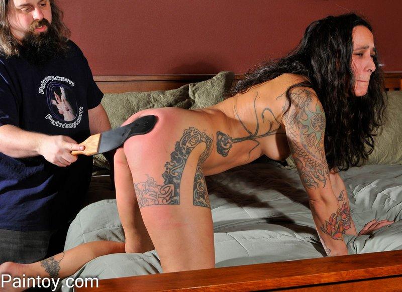 hard strap spanking for Henna