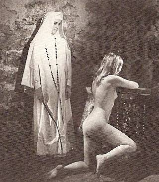 the naked penitent and the whipping nun