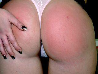 spankable bottom, before spanking