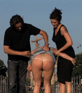 spanked in public in berlin germany