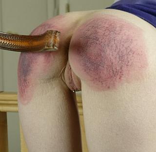 belt spankings on very sore ass