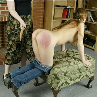 excellent spanking posture