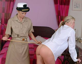 caning photo from regulationknickers.com